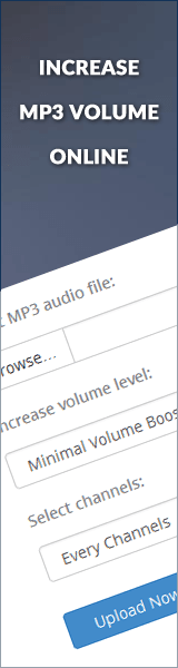 Increase MP3 Volume